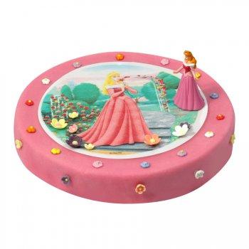 Gâteau Princesse Aurore Ø 28 cm, 12/14 parts