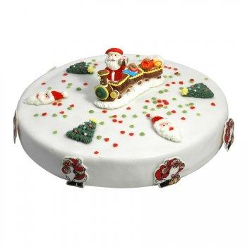 Gâteau Père Noël Ø 28 cm, 12/14 parts