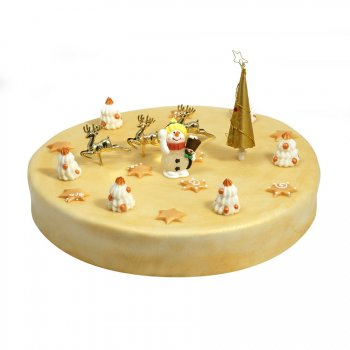 Gâteau Or Ø 28 cm, 12/14 parts