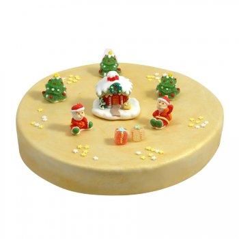 Gâteau Noël Ø 28 cm, 12/14 parts