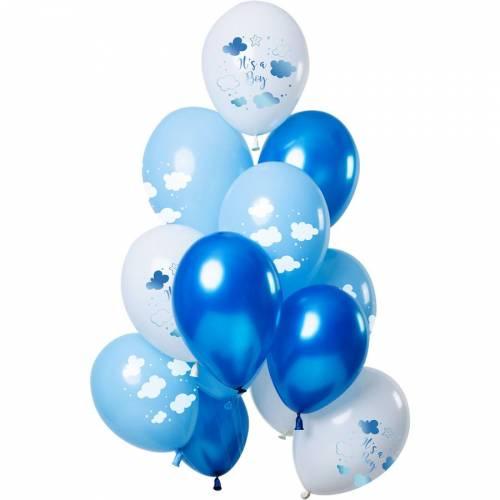 Bouquet 12 Ballons It s a Boy Bleu