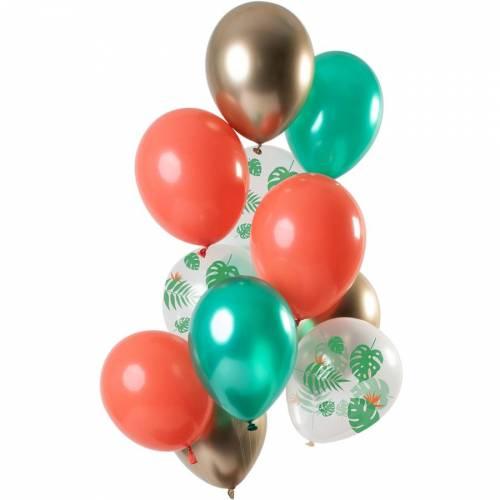Bouquet 12 Ballons - Tropical