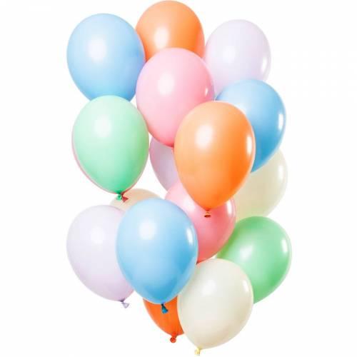 Bouquet 15 Ballons - Pastel