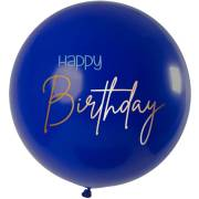 Ballon Elegant True Blue XL - 80cm