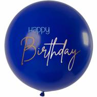 Ballon Elegant True Blue XL - 80cm