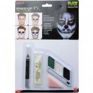 Set Maquillage Squelette Phosphorescent