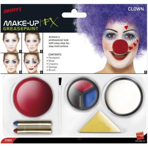 Set Maquillage Clown mixte