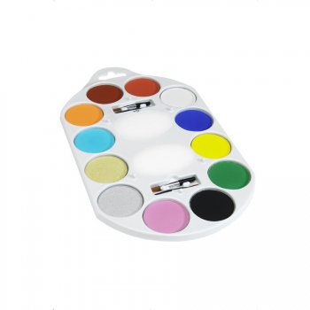 Palette Maquillage 12 couleurs + Accessoires