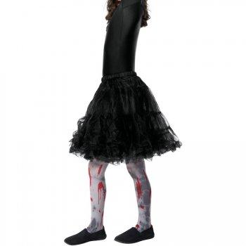 Collant Zombie Sang Enfant Taille 4-9 ans