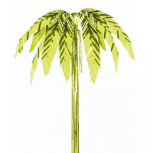 Palmier à suspendre jaune métallisé