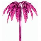 Palmier à suspendre rose métallisé