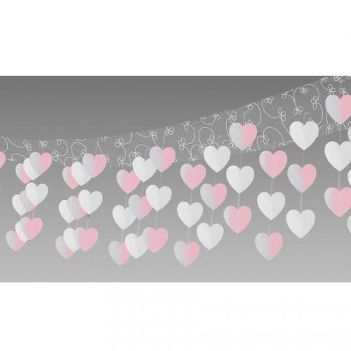Décoration de plafond Guirlandes de Coeurs