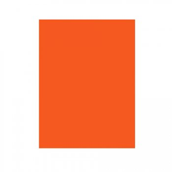 Nappe rectangulaire orange