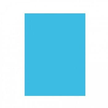 Nappe rectangulaire bleu caraïbe