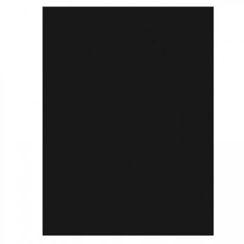 Nappe rectangulaire Noir