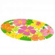 Plateau mélamine fleurs d'hibiscus