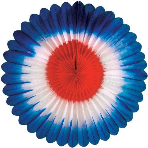 Eventail Deco Tricolore