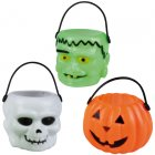 6 mini paniers Halloween