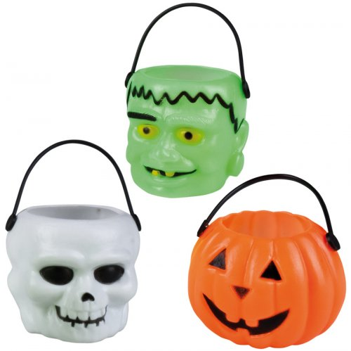 6 mini paniers Halloween