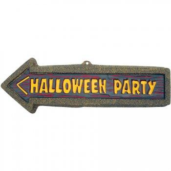 Plaque Halloween Party