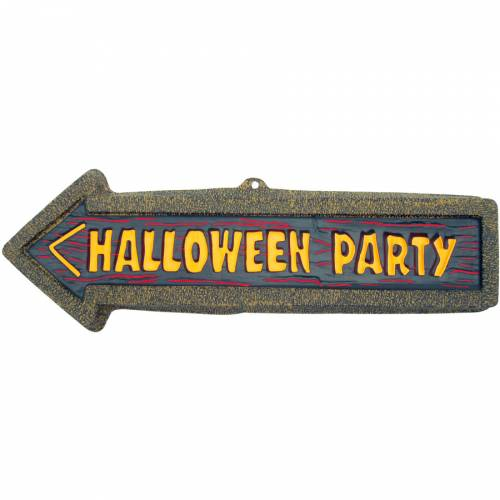Plaque Halloween Party