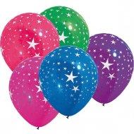 100 Ballons étoiles Multicolores