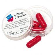 Bo�te de 4 Capsules de Sang