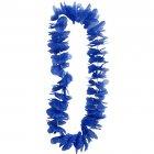 Collier hawaïen bleu