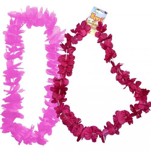 1 Collier Hawaïen Rose