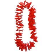 Collier hawa�en rouge