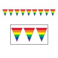 Guirlande Fanions Rainbow