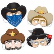 4 Masques Western