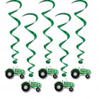 5 Guirlandes tourbillon Tracteurs