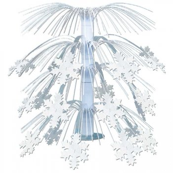 Cascade de table Flocons de neige