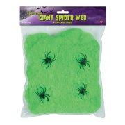 Toile d'araignée Verte