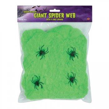 Toile d araignée Verte