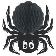 Déco Araignée 3D (30 cm) - Carton
