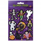 4 Planches de Stickers Halloween