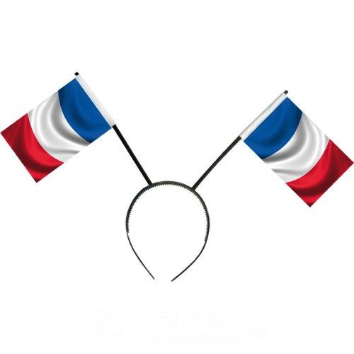 Serre-tête drapeau français