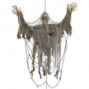 Squelette dans Toile d'araign�e (90 cm)