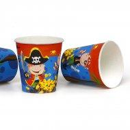 6 Gobelets Bande de Pirates