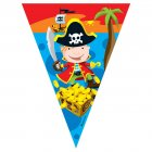 Guirlande Fanions Bande de Pirates