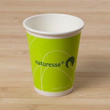 10 Gobelets Cellulose Naturesse vert