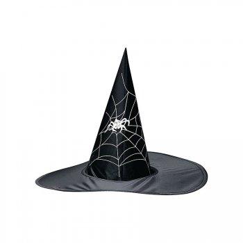 Chapeau de Sorcière Toile d Araignée - Adulte