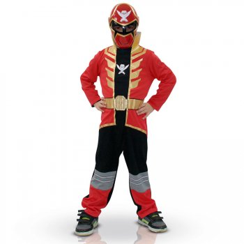 Déguisement Power Rangers rouge Super megaforce