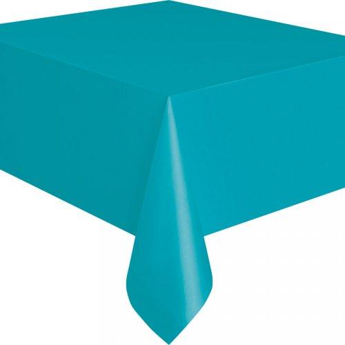 Nappe Unie Bleu Caraïbe - Plastique