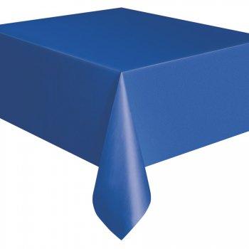 Nappe Unie Bleu Océan - Plastique