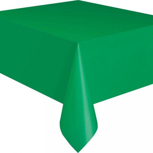 Nappe Unie Vert Emeraude - Plastique