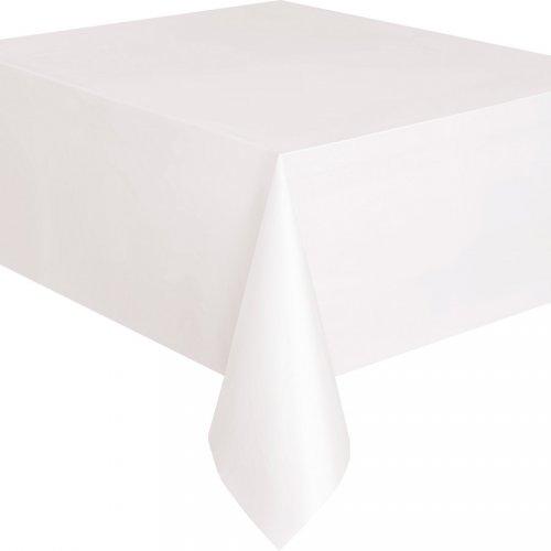 Nappe Unie Blanc - Plastique
