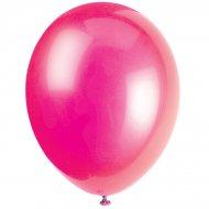 50 Ballons Crystal Rose Fuchsia